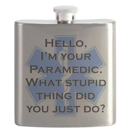 Im Your Paramedic Flask