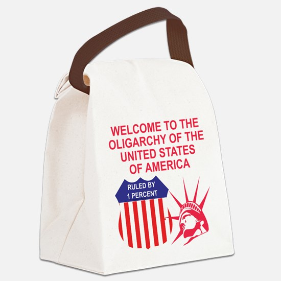 The Oligarchy Canvas Lunch Bag