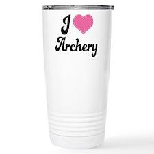 I Love Archery Travel Mug