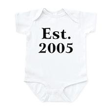 Est. 2005 Infant Creeper