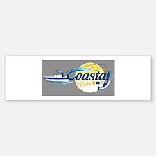Coastal Tackle Box Bumper Bumper Sticker