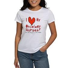 10 x 10 - I Love My Oncology Nurses T-Shirt