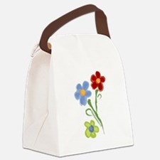 HOPe Flowers Canvas Lunch Bag
