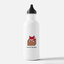 Fox In The Box Water Bottle