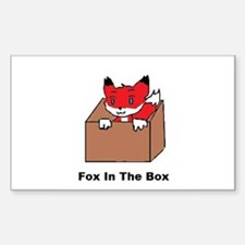 Fox In The Box Decal