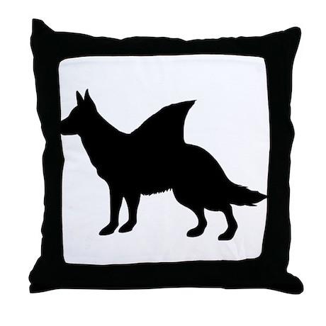 LandShark Throw Pillow