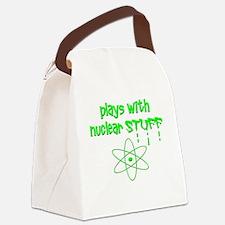Nuclear Stuff Canvas Lunch Bag