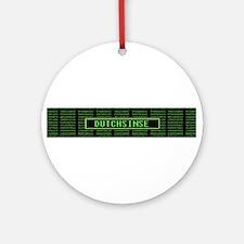 Dutchsinse system failure Ornament (Round)