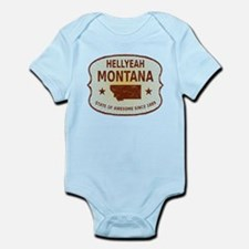 HellYeah Montana Infant Bodysuit