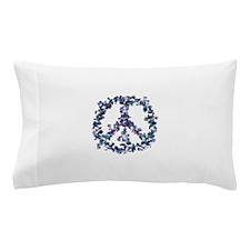 Harmony Flower Peace Pillow Case