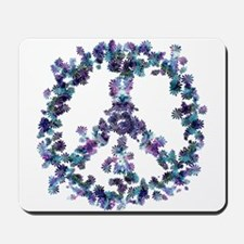 Harmony Flower Peace Mousepad