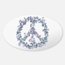 Harmony Flower Peace Decal