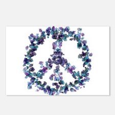 Harmony Flower Peace Postcards (Package of 8)