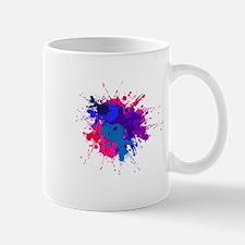 Bi Paint Splash Mug