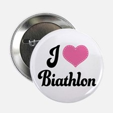 "I Love Biathlon 2.25"" Button"