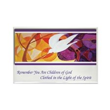 Remember you are children of God Rectangle Magnet