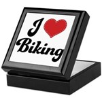 I Love Biking Keepsake Box