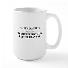 Timber T-shirt Mug