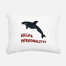 Killer Personality - Orca Whale Rectangular Canvas