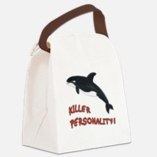 Killer Personality - Orca Whale Canvas Lunch Bag