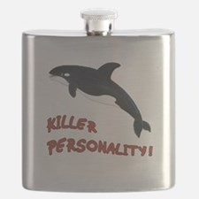 Killer Personality - Orca Whale Flask