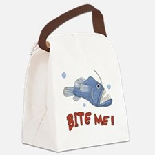 Piranha - Bite Me Canvas Lunch Bag