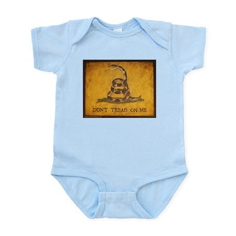 www.aliesfolkart.com Gadsden Flag Infant Bodysuit