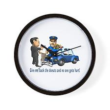 But Cops Love Donuts Wall Clock