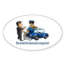 But Cops Love Donuts Decal