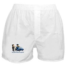 But Cops Love Donuts Boxer Shorts