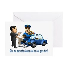 But Cops Love Donuts Greeting Cards (Pk of 10)