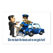 But Cops Love Donuts Postcards (Package of 8)