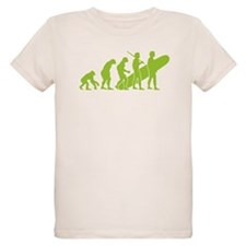 Evolution of Surfing Design T-Shirt