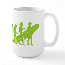 Evolution of Surfing Design Mug