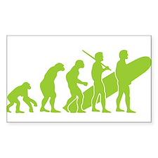 Evolution of Surfing Design Decal