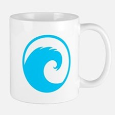 Ocean Wave Design Small Small Mug