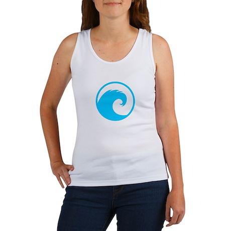Ocean Wave Design Women's Tank Top