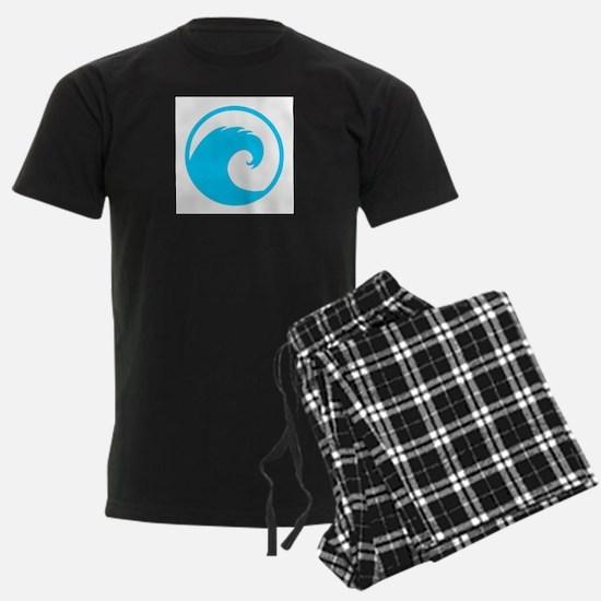 Ocean Wave Design Pajamas
