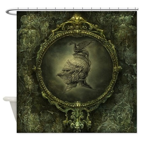 Knight fantasy shower curtain by showercurtainshop for Fantasy shower curtains