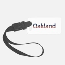 Oakland Stars and Stripes Luggage Tag
