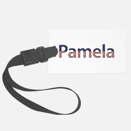 Pamela Stars and Stripes Luggage Tag
