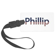 Phillip Stars and Stripes Luggage Tag