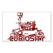 CURIOSITY MARS ROVER Decal