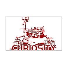 CURIOSITY MARS ROVER Wall Decal