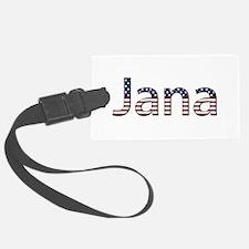 Jana Stars and Stripes Luggage Tag