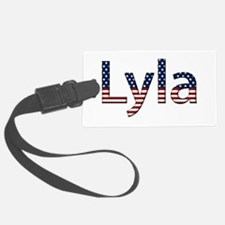Lyla Stars and Stripes Luggage Tag