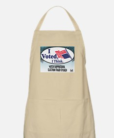 I Voted, I Think Apron