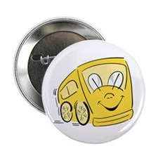 YELLOW HAPPY BUS Button