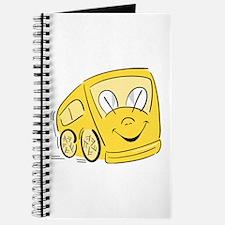 YELLOW HAPPY BUS Journal