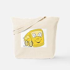 YELLOW HAPPY BUS Tote Bag